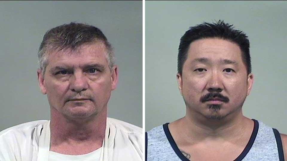 Michael Kover and Joel Johnson, prostitution sting