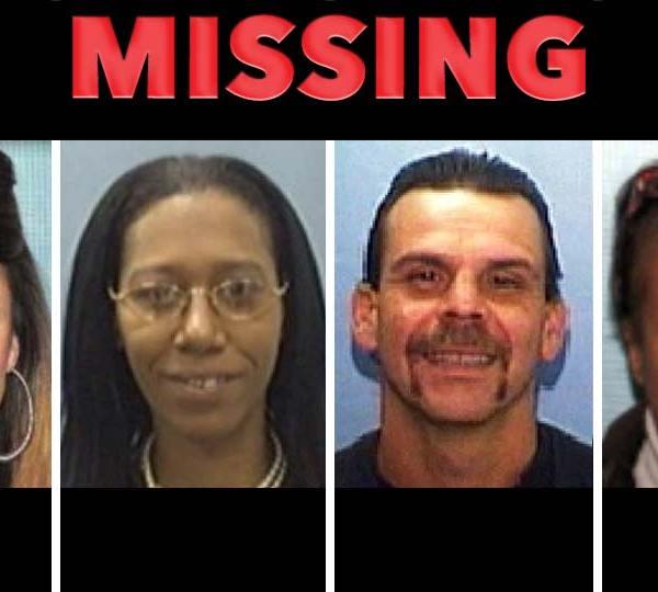 Missing Persons: Amy Hambrick, Samantha Joseph, Dean Donnadio, Kimberly Wilson-Talley