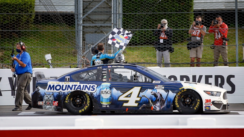 Late scratch: Harvick knocks off Pocono from winless list.