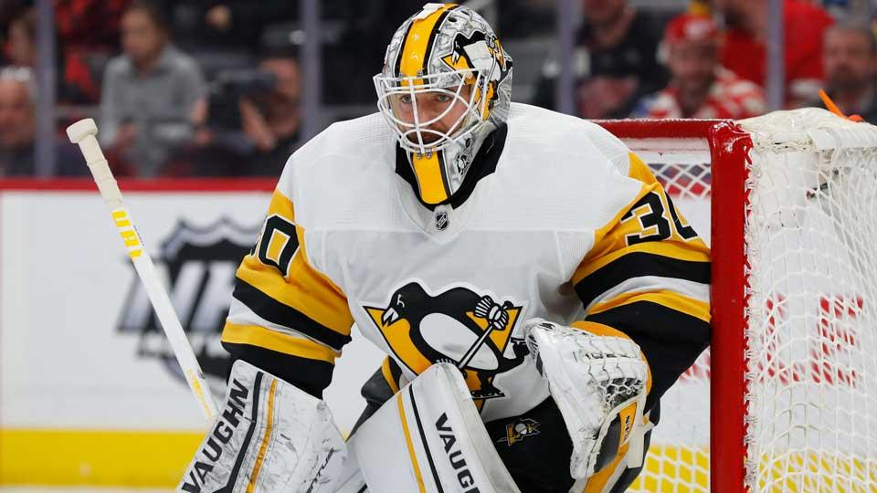 Pittsburgh Penguins goaltender Matt Murray