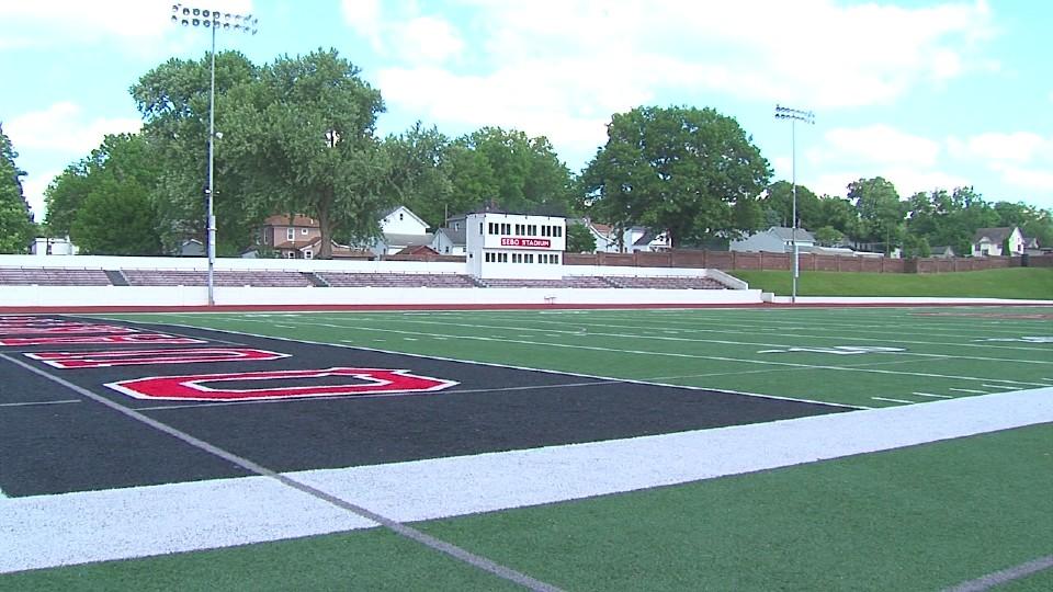 Salem high school stadium