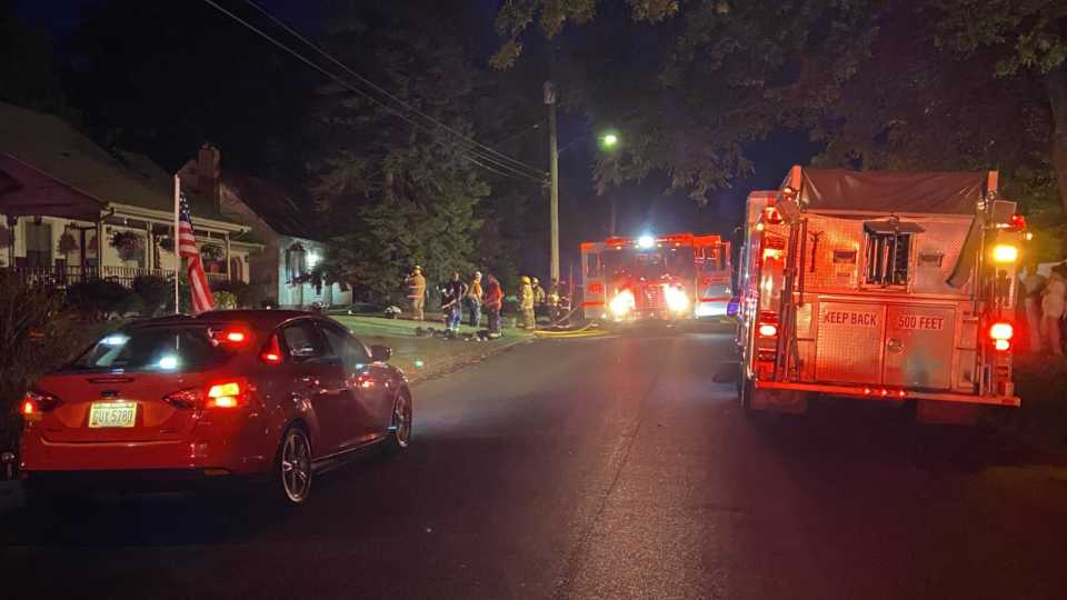Struthers house fire