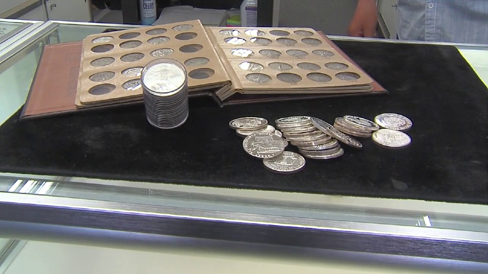 The Coin Shop in Boardman, gold and silver coins