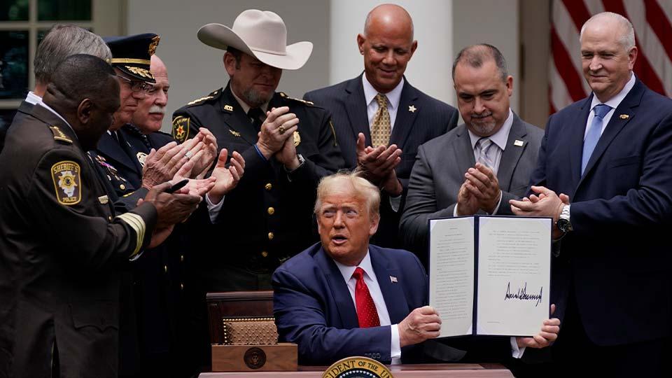 Trump, Police Reform Bill