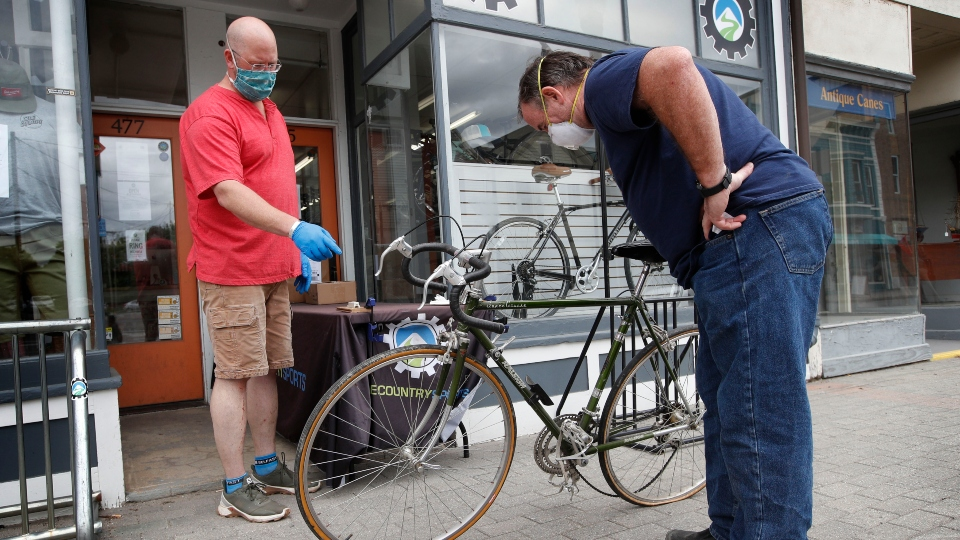Pandemic leads to a bicycle boom, and shortage, around world.