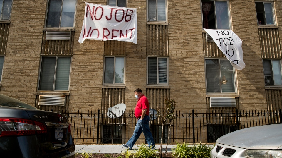 Tenants behind on rent in pandemic face harassment, eviction.