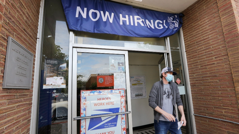 Persistently high layoffs suggest a slow US economic rebound.