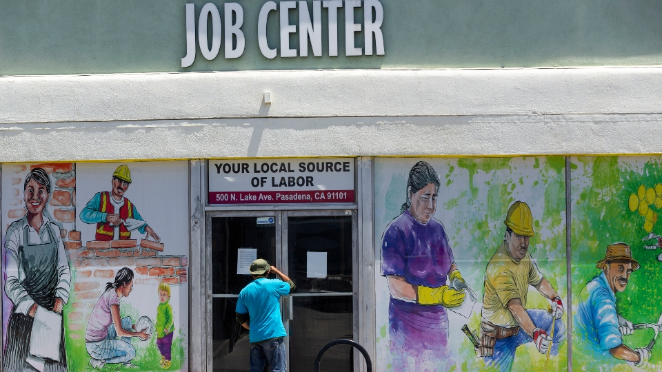 Hiring rose in 46 states in May yet jobless rates still high.