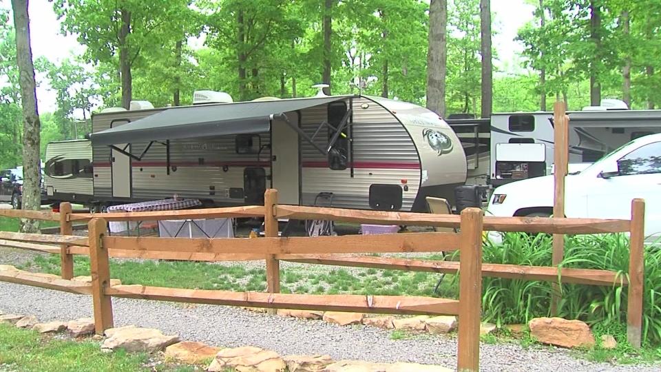 Yogi Bear Jellystone Park campgrounds, Butler County