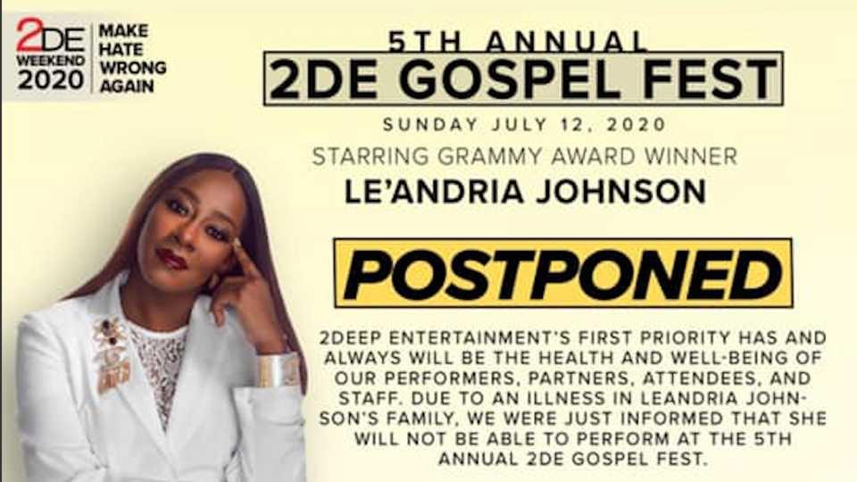 2DE gospel fest