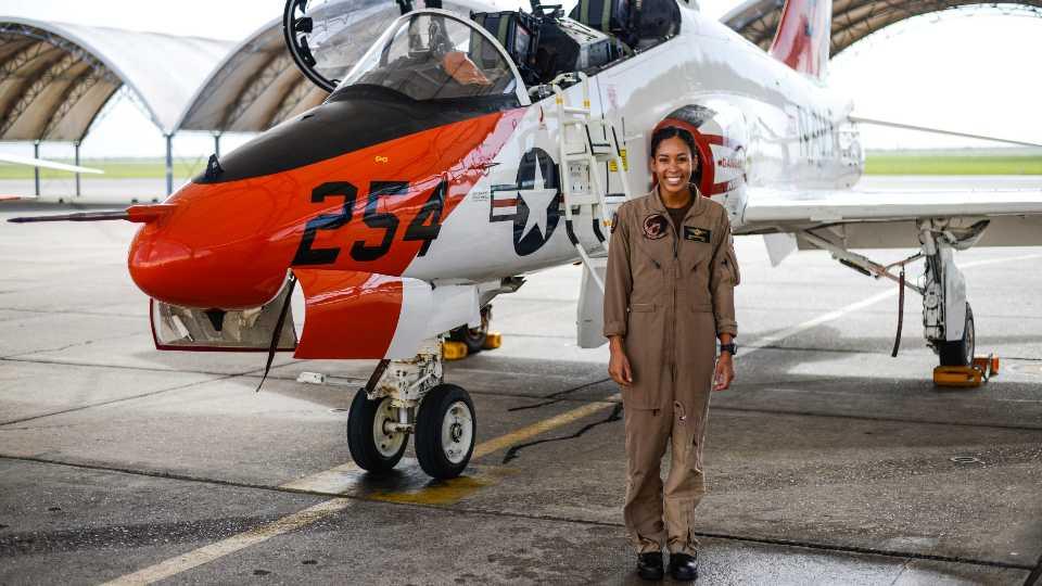 APTOPIX Black Naval Pilot