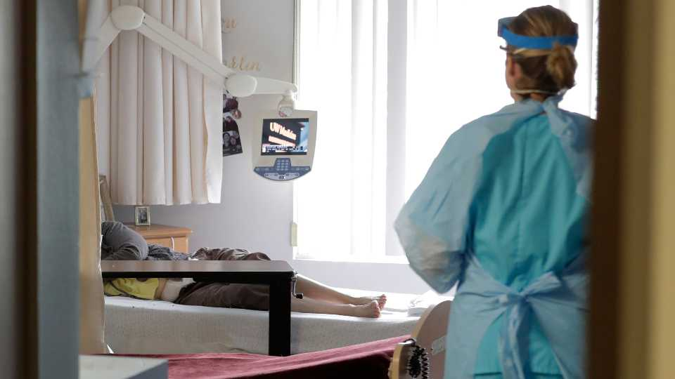 Virus Outbreak Nursing Home Stimulus Checks