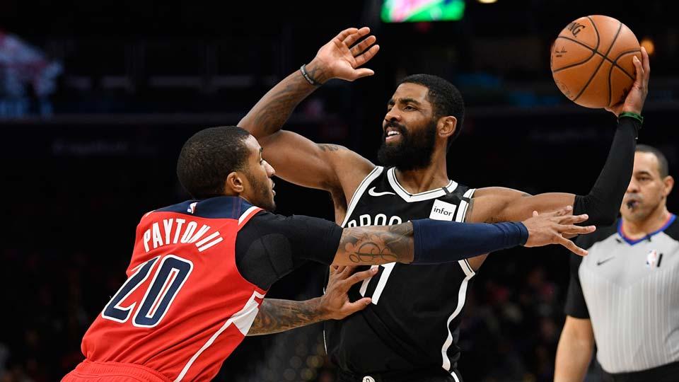 Brooklyn Nets guard Kyrie Irving (11)