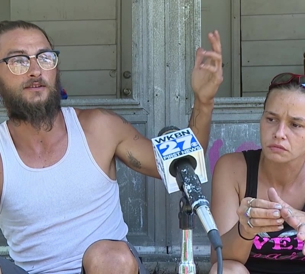 Patrick Carroll and Janice Budrevich, kayakers who found body on Mahoning River in McDonald