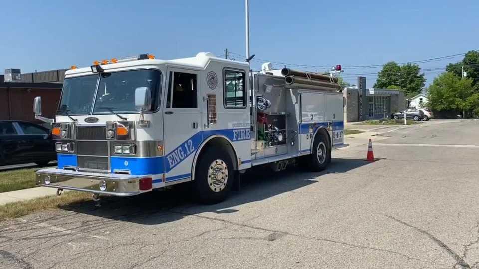 Firetruck Cortland Ohio