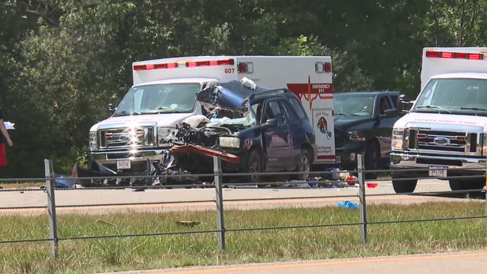 Howland Twp. accident on R82