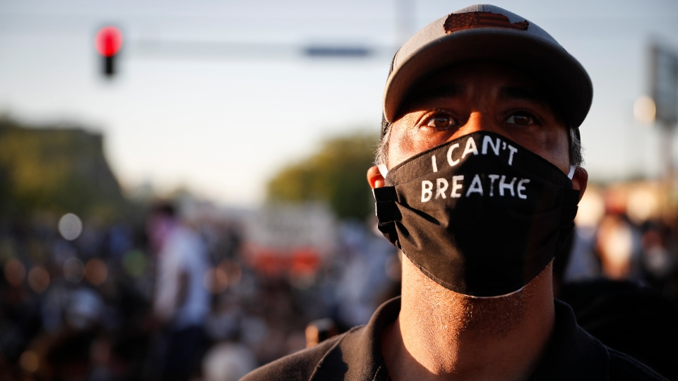I Can't Breathe, Black Lives Matter protest