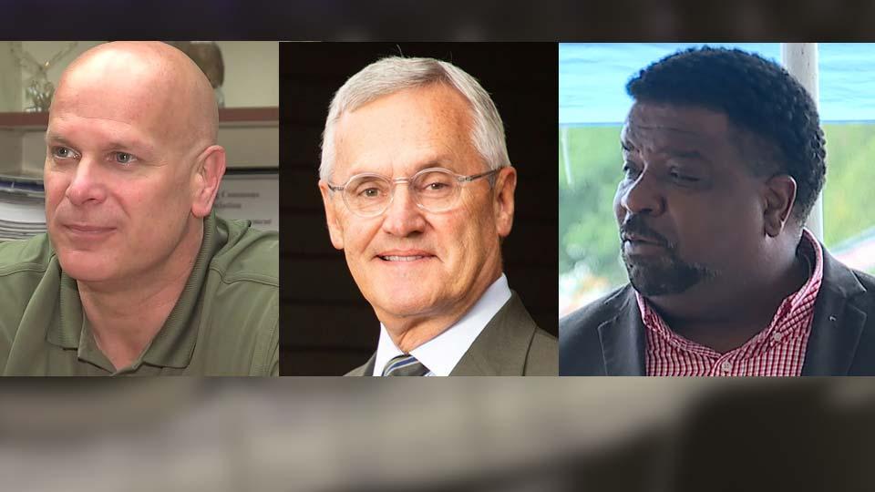 Sheriff Jerry Greene, Jim Tressel YSU, Mayor Tito Brown, Racism Forum
