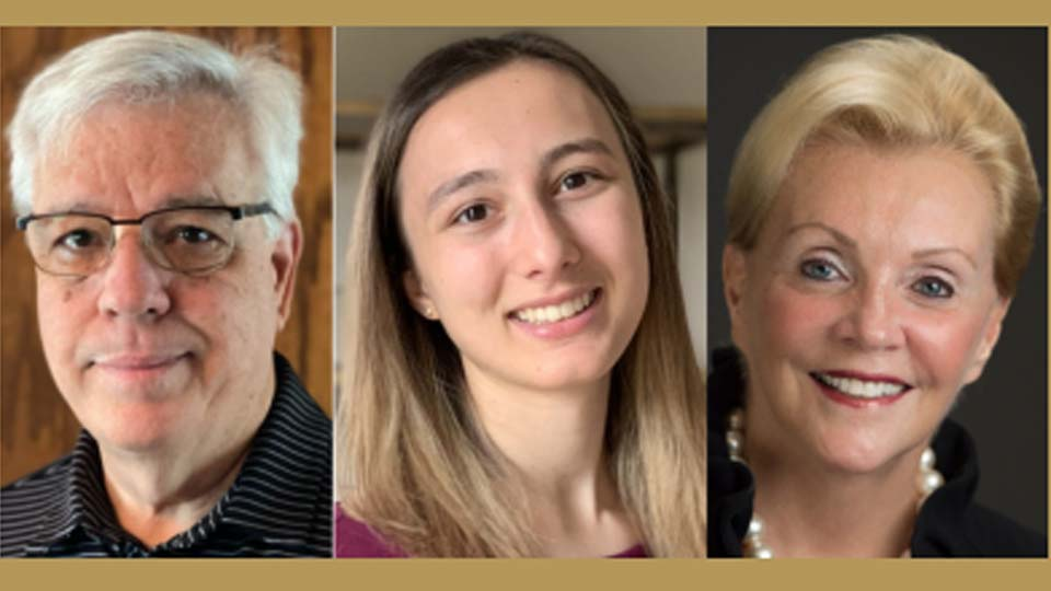 New YSU Trustees: Joseph J. Kerola, Galena Lopuchovsky, Helen K. Lafferty
