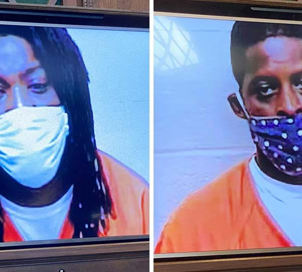 Julius Kimbrough, 43, of Humboldt Avenue, and Dawond Roddy, 36, of West Lucius Avenue, were both arraigned in municipal court on charges of aggravated murder before Judge Carla Baldwin.