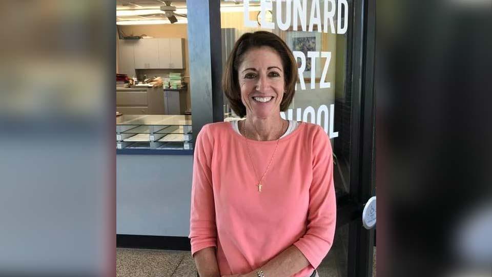 Dr. Gina Symsek as the new principal of Leonard Kirtz School