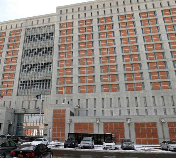 Metropolitan Detention Center (MDC) in the Brooklyn borough of New York
