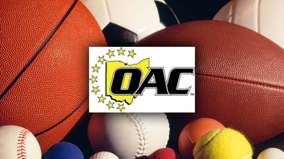 Ohio Athletic Conference (OAC) All sports, generic