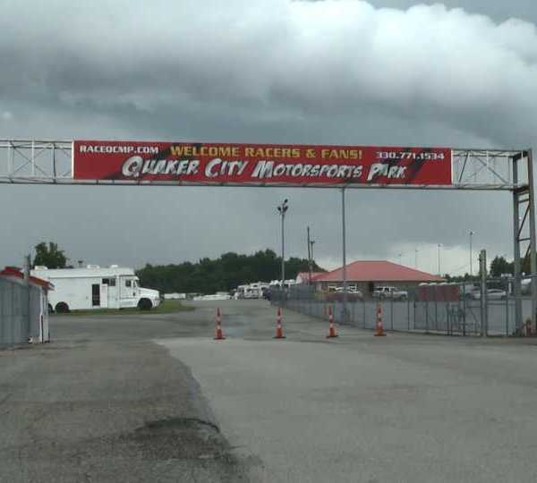 Quaker City Motorsports Park races suspended.