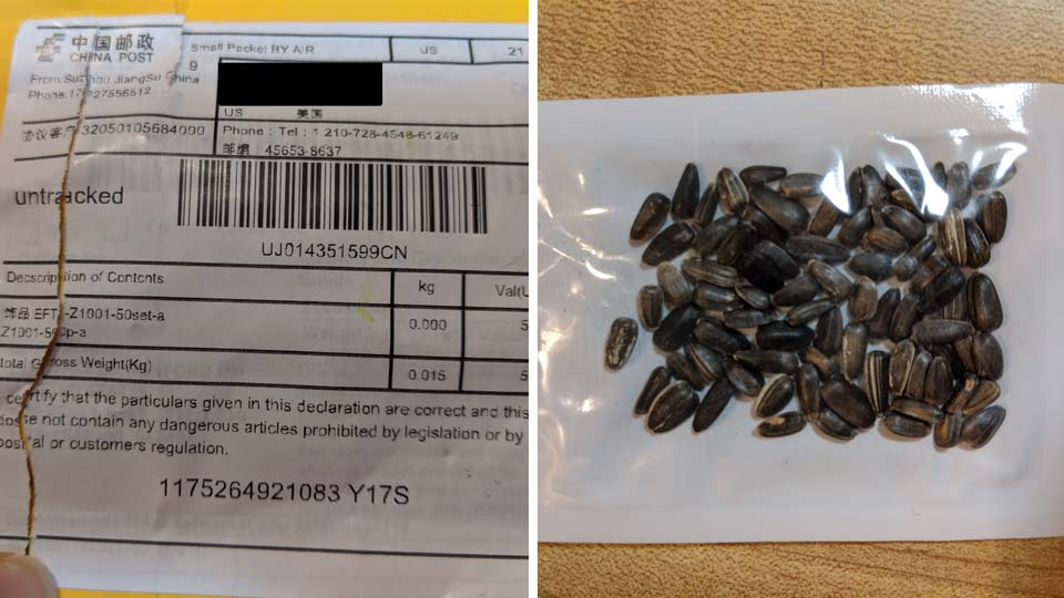 ODA Asks Public to Not Plant any Unsolicited Packages of Seeds