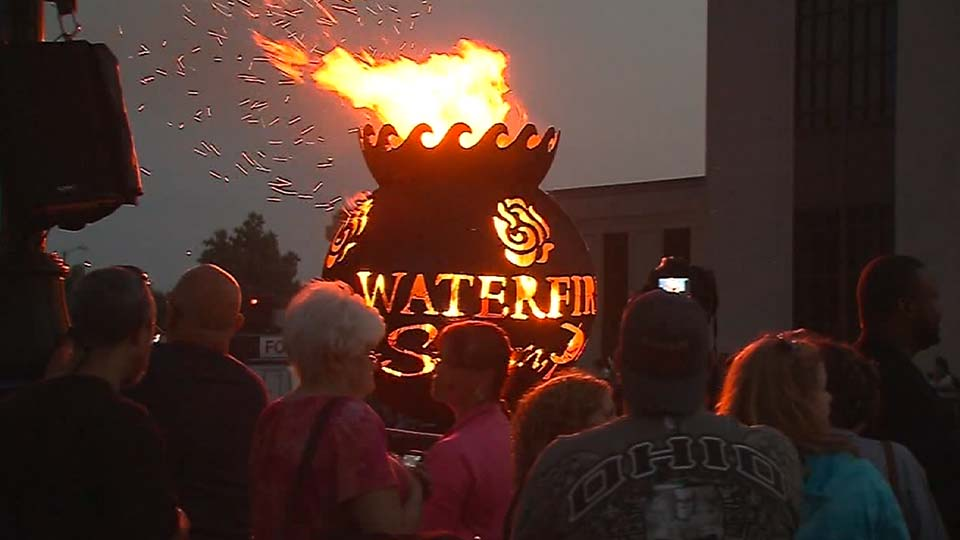 Sharon WaterFire 2019