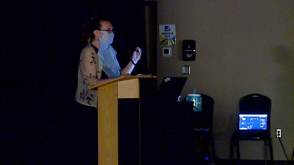 Titanic survivor granddaughter speaks in Youngstown.