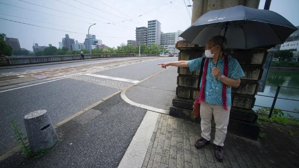 Lee Jong-keun at the Kojin Bridge