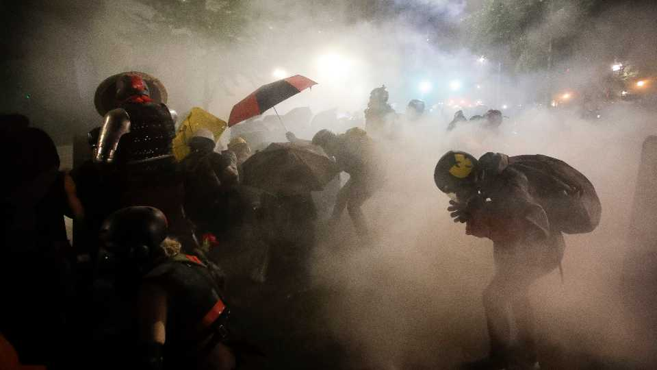 Racial Injustice Tear Gas