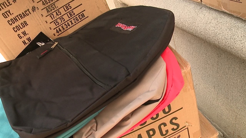 Backpack, school supply giveaway, Stuff the Bus Youngstown