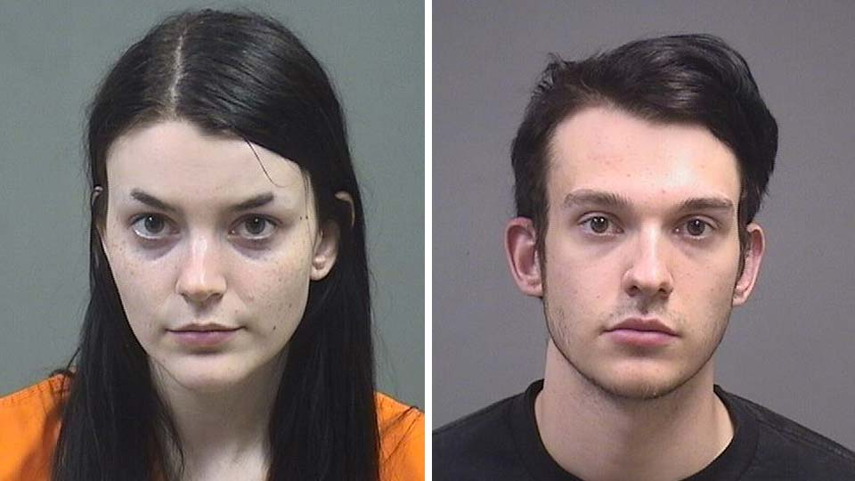 Kasey Badgley, 24 and Craig Badgley, 22, they were arrested during Youngstown protests and we have them with a bunch of other mugs.
