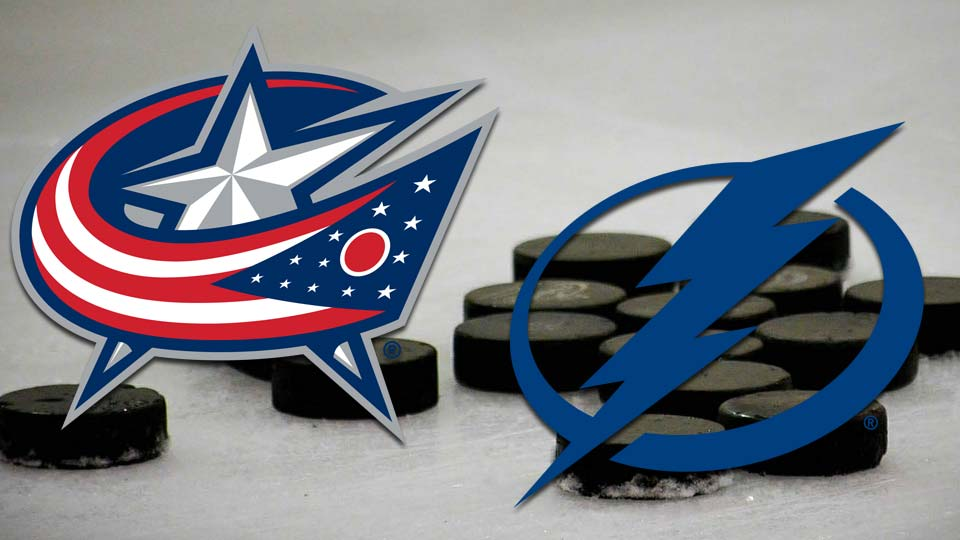 Columbus Blue Jackets Tampa Bay Lightning hockey