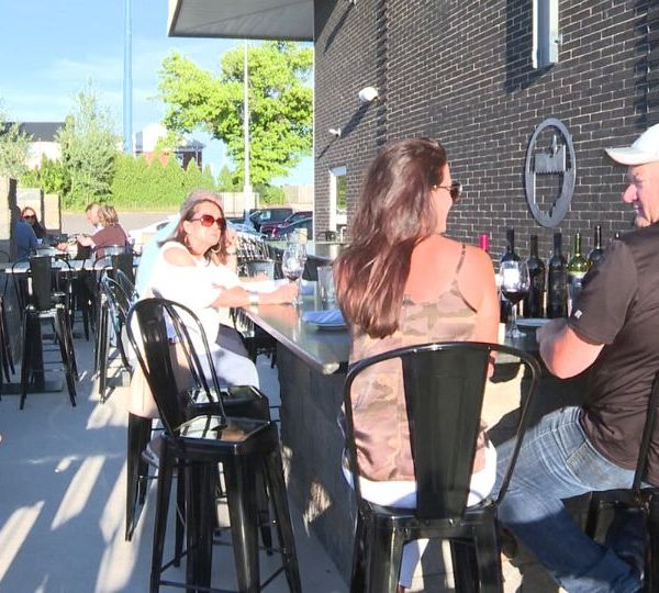 Outdoor dining has been more popular than ever this summer. So much so, that restaurants are building patios or putting up temporary tents.