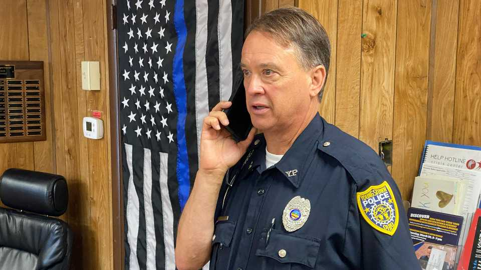Youngstown officer Dave Wilson retires