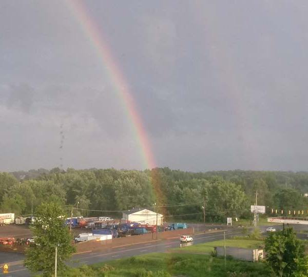 Double rainbow, Missy, Youngstown