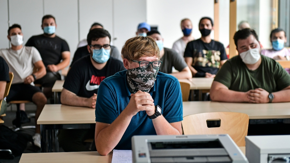 Germany back-to-school, pandemic