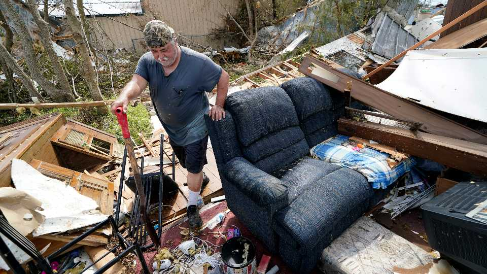 For one family, Hurricane Laura the 3rd strike