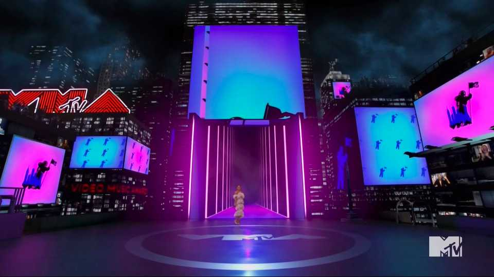 In this video grab issued Sunday, Aug. 30, 2020, by MTV, host Keke Palmer speaks during the MTV Video Music Awards.