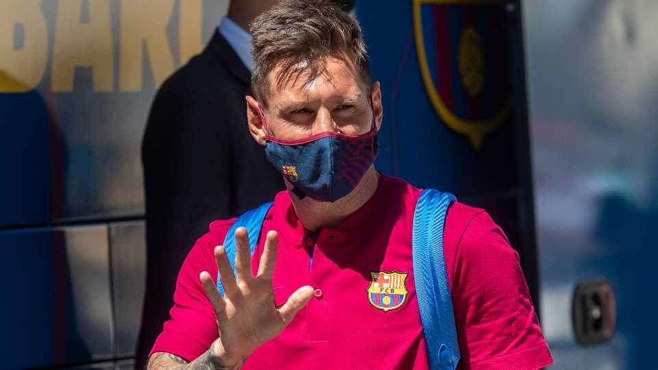 Lionel Messi Barcelona soccer