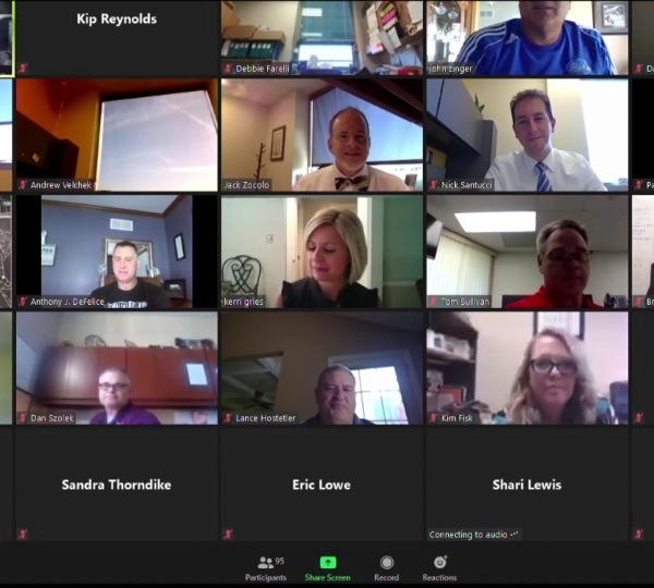 Mahoning County Educational Service Center Zoom meeting, coronavirus