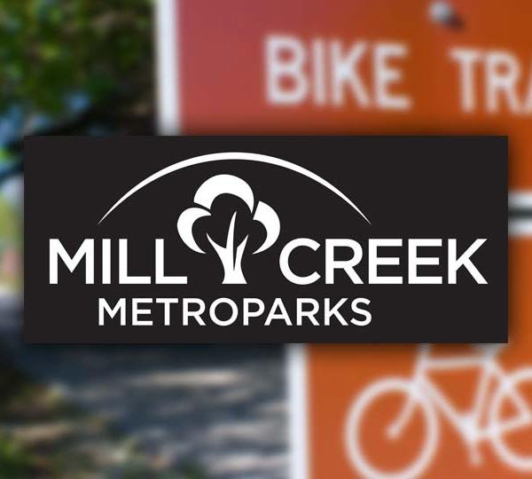 Mill Creek metroparks bike trail