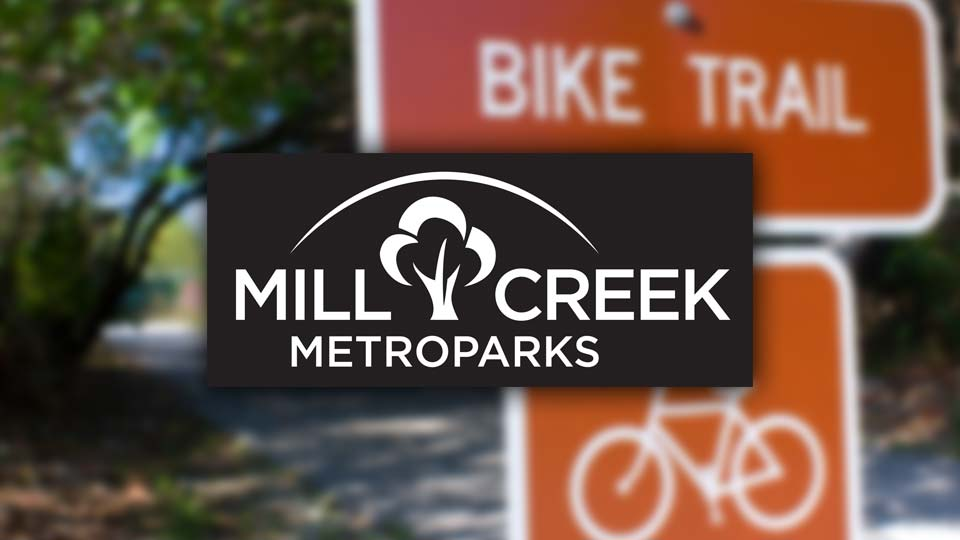 Mill Creek metroparks bike trail