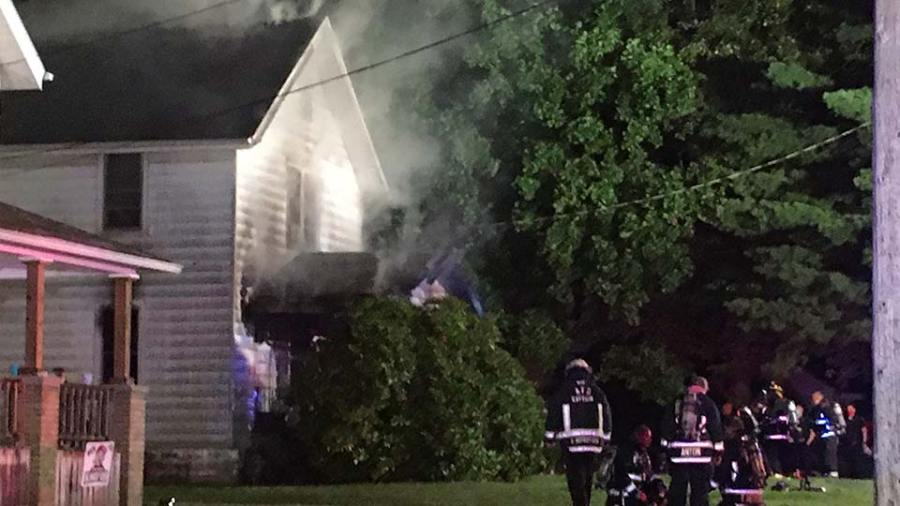 Lincoln Avenue Fire, Weathersfield Township