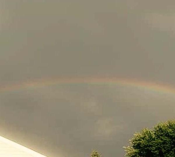 Nancy, Austintown, rainbow