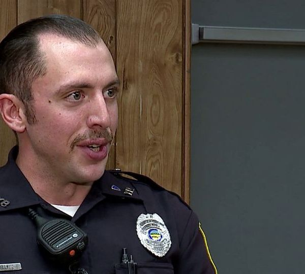 A Youngstown Police officer is being singled out for his quick response at a recent shooting scene.