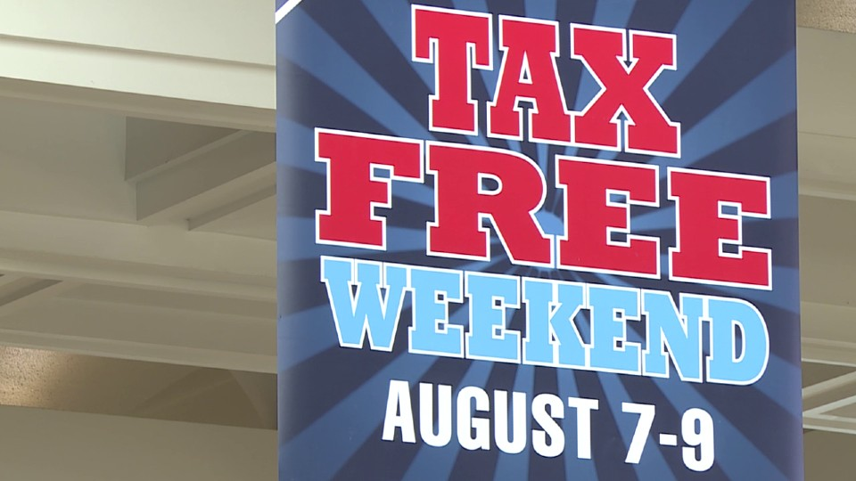 Ohio tax free weekend 2020